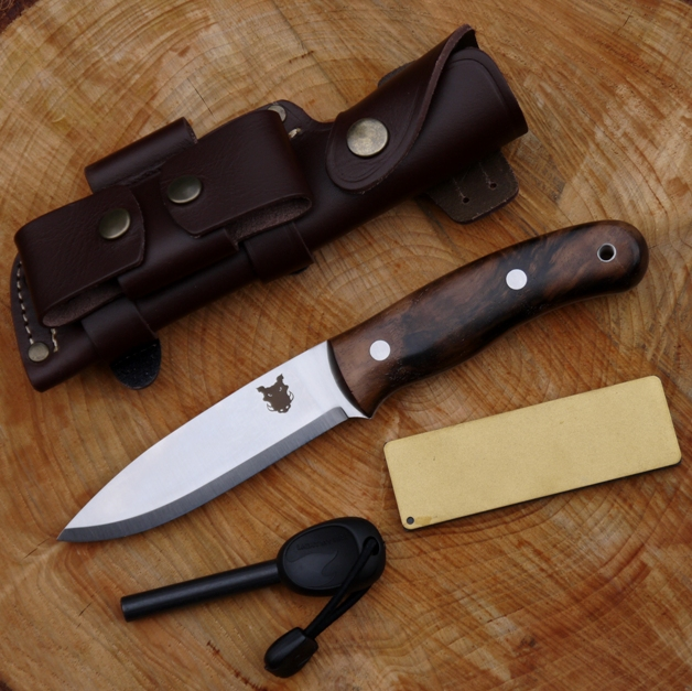 Tbs Boar Bushcraft Knife Dc4 Firesteel Edition Turkish